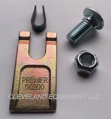 New Auger Wisdom Tooth Set Carriage Bolt Lock Nut Teeth Bit Bobcat Pengo 35 Dirt