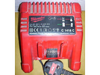 MILWAUKEE LITHIUM ION BATTERY CHARGER C1418C 14.4 - 18V 3 AMP