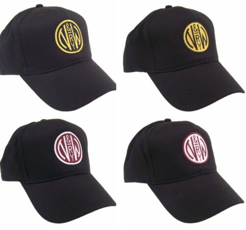 Norfolk & Western N&w Railway Embroidered Railroad Cap Hat #40-3600 Color Choice