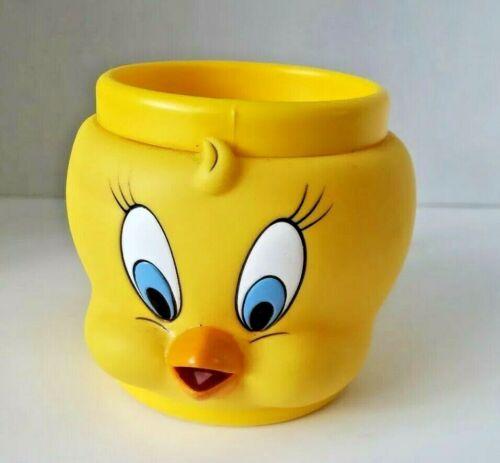 Looney Tunes Tweety Bird 3D Cup Mug Coffee Tea Plastic 1992 Warner Bros.