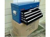 Brand new draper tool box and tools
