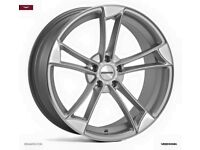 """19"""" Veemann VM1 Silver with a Polished Face for VW Audi Seat Etc"""