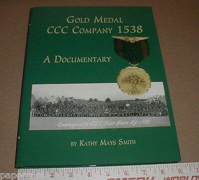 Ccc Company Camp 1538 Fort Knox Ky Kentucky History Civilian Army Corps Rare New
