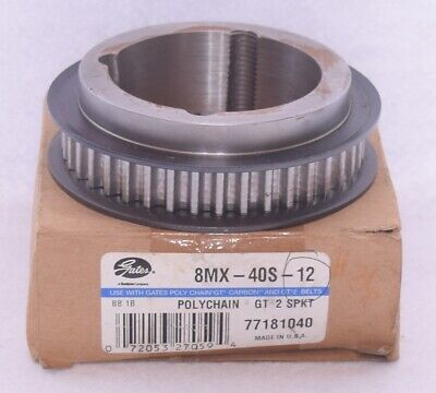 Gates 8mx-40s-12 Timing Pulley