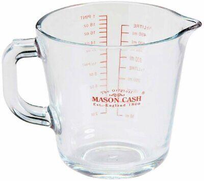 Mason Cash Classic Collection Glass 500ml Measuring Jug