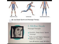 WEDNESDAY MASSAGE THERAPY. SPORTS DEEP TISSUE SWEDISH MASSAGE.