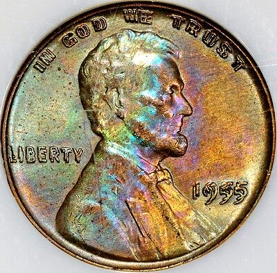 Click now to see the BUY IT NOW Price! 1955 DOUBLE DIE NGC MS 61