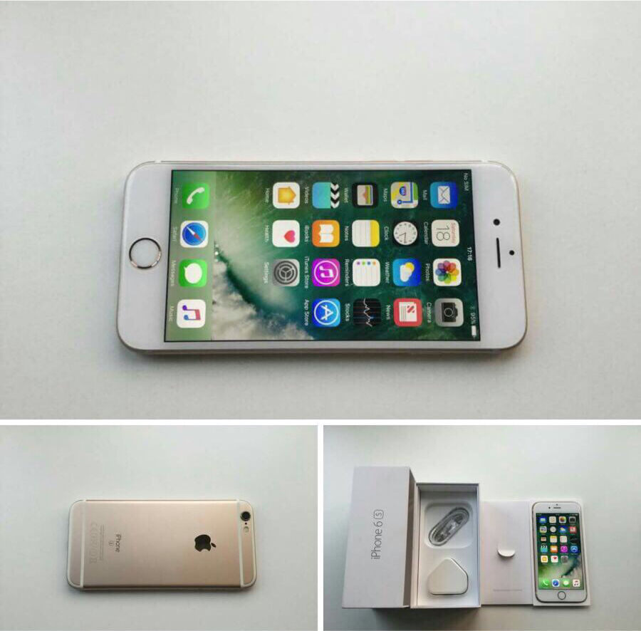 Iphone 6s gold 16gbin Anfield, MerseysideGumtree - Iphone 6s gold (unlocked) full workng order no marks or scratches with mains charger/ power sync lead no offers or swaps collection aintree
