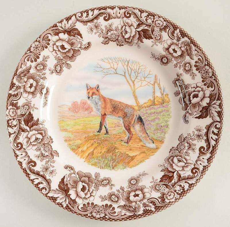 Spode Woodland Red Fox Dinner Plate 10995284
