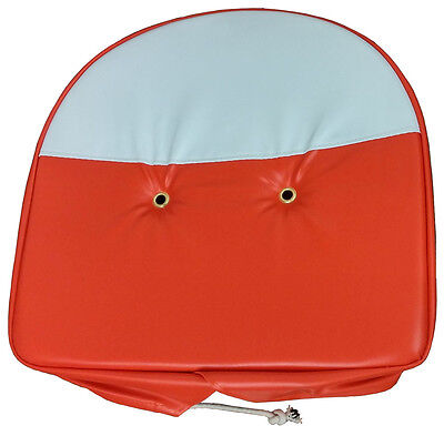 New Universal Orange And White Pan Seat Cover