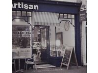 Part time and full time Cafe assistants required in Kemptown