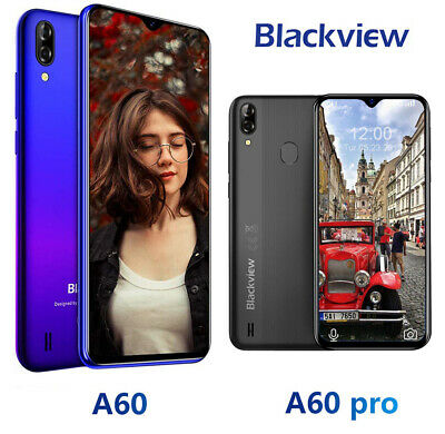 "6.1""Blackview A60 A80 Pro Smartphone 16GB 64GB 4680mAh 4G Waterdrop Mobile Phone"