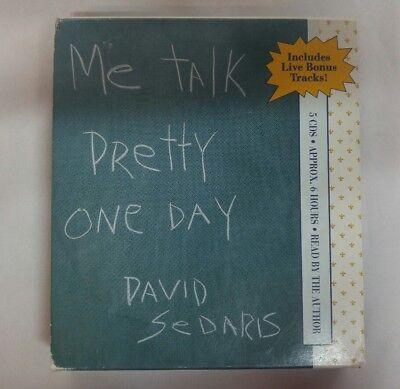 Me Talk Pretty One Day David Sedaris Audio CD Book **missing disc (David Sedaris Me Talk Pretty One Day Audio)