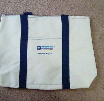 Royal Caribbean International Cruise Line Logo Tote Canvas Beach Bag
