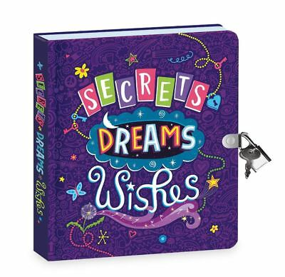Secret Diary For Girls Kids With Lock And Key Dreams Thoughts Journal Notebook - Journals For Girls