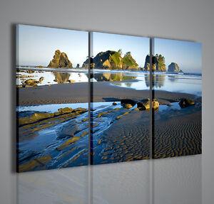 Quadri moderni high tide quadro moderno mare arredamento for Quadri parete soggiorno