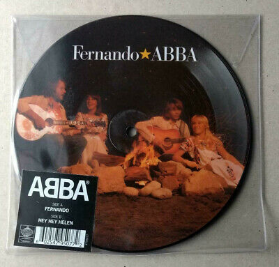 "ABBA new Fernando 40th Anniversary Ltd Picture Disc vinyl 7"" Hey Helen Agnetha"
