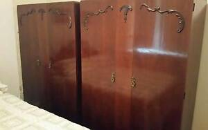 MAHOGANY WARDROBES - BUY ONE OR BOTH Macquarie Links Campbelltown Area Preview
