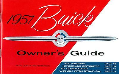1957 Buick Owner's Manual