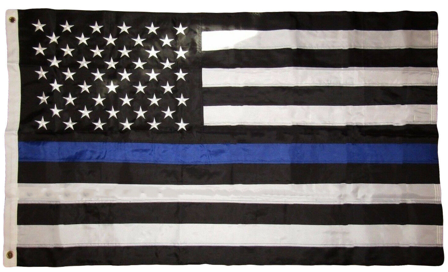 The Thin Blue Line represents the relationship of the police in the community as the protectors of the citizenry from the criminal element It represents those men