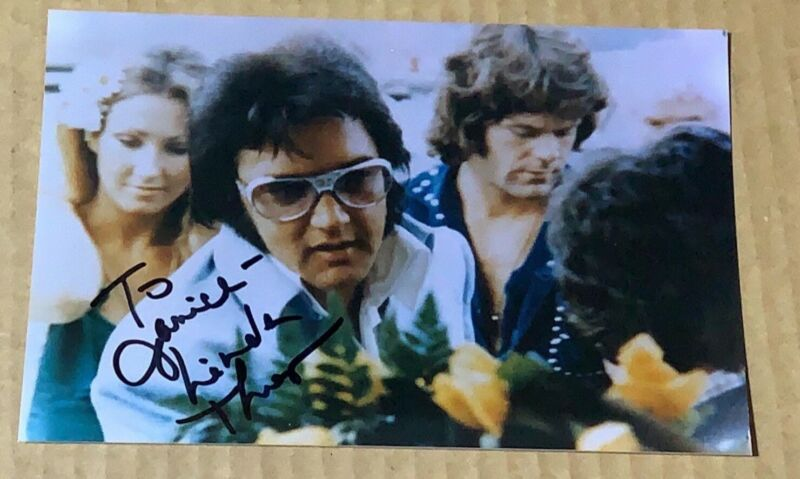 SIGNED Linda Thompson Photo / Elvis Girlfriend / Direct From Memphis
