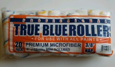 True Blue Professional Paint Roller Covers, Best for All Types of Paint 20, 4