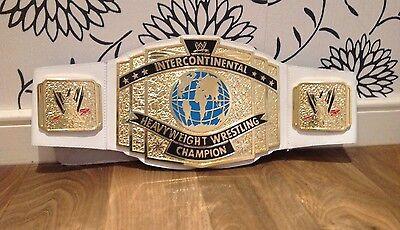 TOY WWE WWF CLASSIC INTERCONTINENTAL CHAMPIONSHIP WRESTLING BELT HOGAN DX lesnar