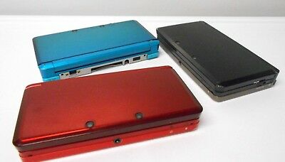 Nintendo 3DS System w/charger bundle choose systems color Free Shipping