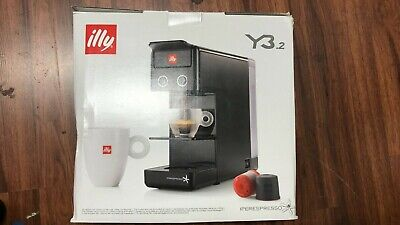 Illy Francis Francis Y3.2 iperEspresso Espresso & Coffee Machine - Black