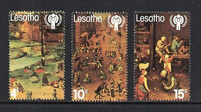 Lesotho - 1979, International Year of the Child, Mint Never Hinged