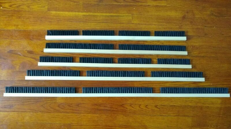 Crippen Seed & Grain Cleaner Brushes ( Scrapers Sweepers ) ( 5 different sizes )