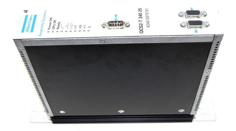 ATLAS COPCO 4240 0370 81 SERVO CONTROL MODULE QCS2-T 340 25 ACC P/N: 9032011834