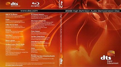 2008 High Definition Audio Demonstration Disc Blu Ray Dts    New  Rare  Oop