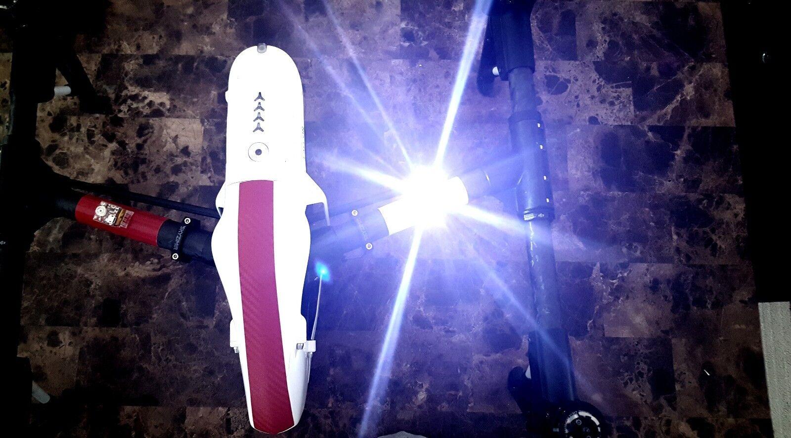 DRONE CREE DUAL BLUE STROBE LIGHT W/ BATT FAA 107 DJI INSPIRE 1 2 PHANTOM MAVIC