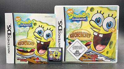 CHENCHEF für den Nintendo DS + Lite + XL + 3DS 2DS (Sponge Bob Kuchen)