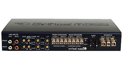 CRITICAL MASS AUDIO 1000.4 BEST 4CH CAR AMPLIFIER AMP MADE USA ZAPCO ADS $8K JL