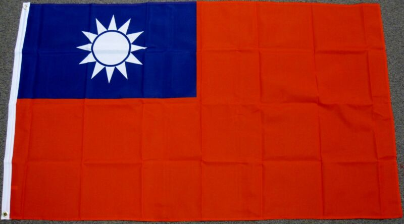 3X5 TAIWAN FLAG TAIWANESE FLAGS ASIAN NEW ASIA F222