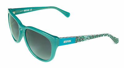 Kenneth Cole Women's Sunglasses - KC2730 89B - Turquoise Frame, Grey Smoke - Turquoise Sunglasses