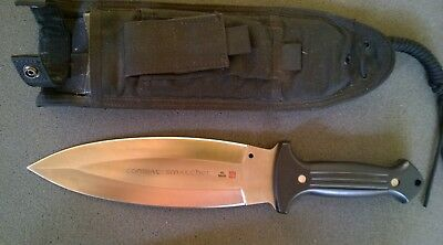 VERY RARE Vintage AL MAR Applegate/Fairbairn COMBAT SMATCHET Double Edge