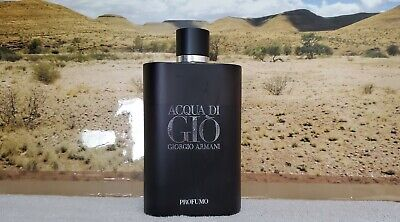 *(READ DESCRIPTION!!!!!)* Acqua Di Gio Profumo USED 10.2oz BOTTLE 100% AUTHENTIC