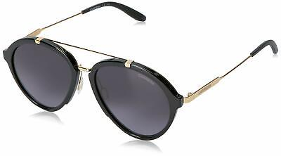 CARRERA 125/S 06UB MEN'S SUNGLASSES SHNY BLACK GOLD GRAY GRADIENT (Carrera Men Sunglasses)