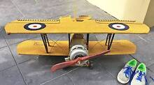 Tin Replica Model Plane Avro 621 Tutor Must be sold Byron Bay Byron Area Preview