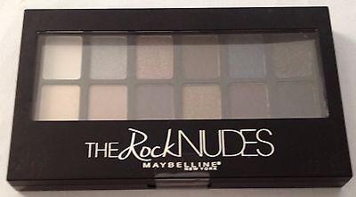 Maybelline THE Rock Blushed NUDES Eyeshadow Palette- 0.34 Oz~Free Ship - Sealed