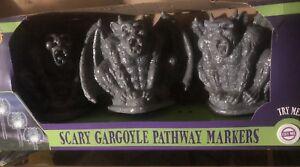 Scary Gargoyle Pathway Markers