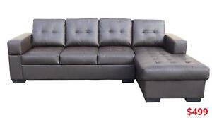 LEATHER SECTIONAL SOFA FOR 499 ONLY !!!