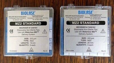 New Biolase Waterlase Laser Tips Mz2 18mm 20mm 10 Of Each 20 Tips Total.