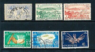 Stamps of New Hebridies (1887)