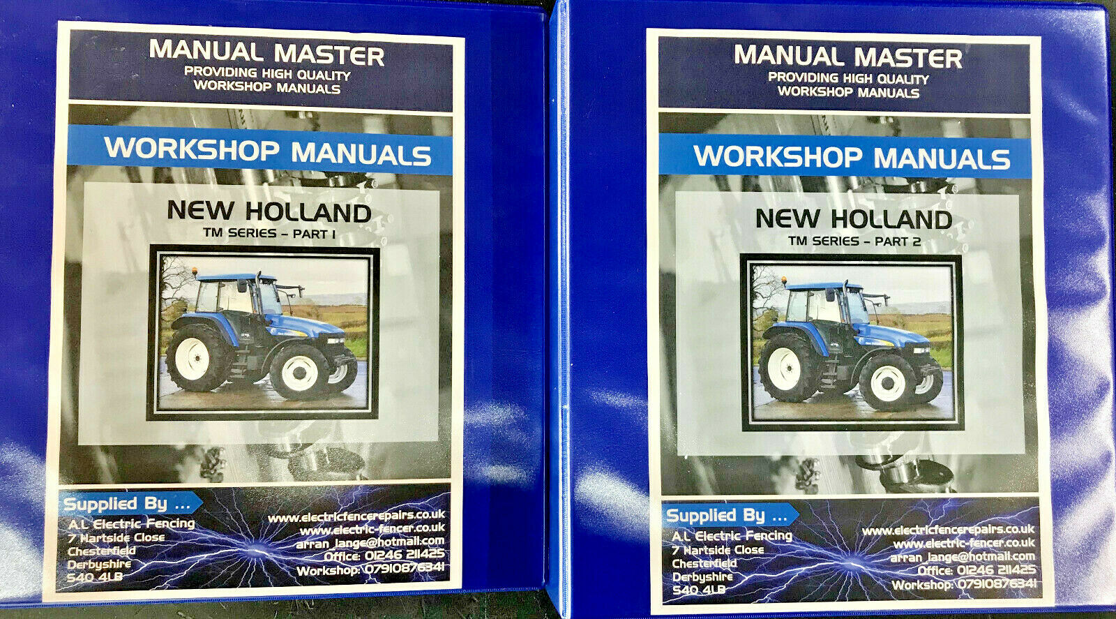 New Holland Digger Tractor Loader Backhoe Nh75 Nh85 Nh95 Workshop Service Manual Other Tractor Publications