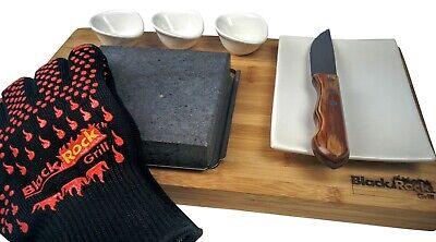 Grande Premium Steak Stones Set de Regalo,Caliente Roca Piedra de Cocina Grill