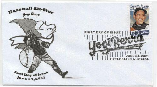 2021 Sc.#5608 (55¢) Yogi Berra First Day of Issue